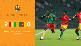 CHAN 2020 | 3ème place : Guinée 2-0 Cameroun