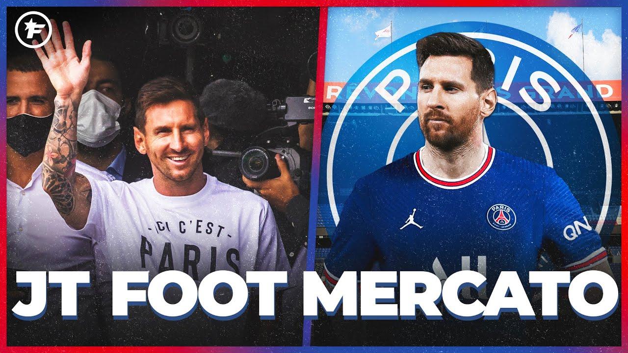 Accord TOTAL entre Lionel Messi et le PSG   JT Foot Mercato