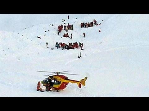 Лавина во французских Альпах унесла три человеческие жизни