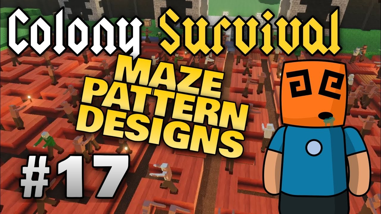 Colony Survival ep17 | Does maze design matter?