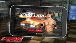 "Download the free mobile app ""John Cena's Fast Lane"""