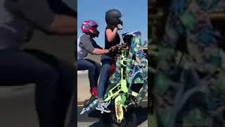 Stunt biker, parejas en moto🏍❤ videos para estados de whatsapp