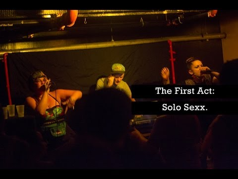 QUIET LUNCH MAGAZINE presents Solo Sexx.