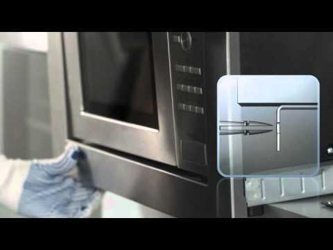 Microondas Balay con marco y sistema de fácil instalación