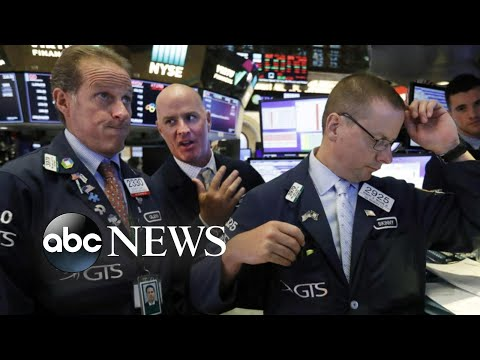 Dow plunges 800 points, marking worst day for stocks this year