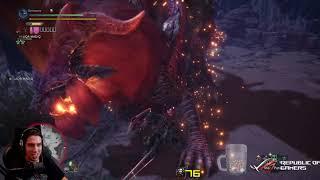 Monster Hunter World - Sick timing KO on Teostra