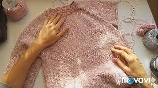СП Неделя стартов с Алиной. Итоги. Каким будет свитер. #неделястартов_с_алиной_итоги