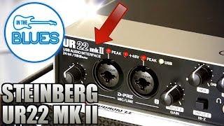 Steinberg UR22 MKII USB Audio Interface - Setup & Audio Test