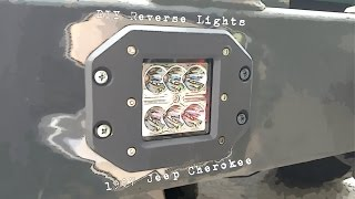 DIY Reverse Lights  --- 97 Jeep Cherokee ---