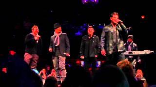 Nick Lachey se produit avec 98 Degrees - Live at Irving Plaza: 22.01.13