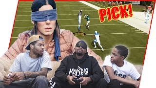 The #BirdBox Challenge! Can He Win Without Looking?! - Madden 19 Ultimate Team