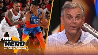 Russell Westbrook is not a Top 12 player in the NBA — Colin Cowherd | NBA | THE HERD