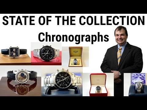 My Watch Collection 2018 Part 1: Chronograph Watches – Omega, Breguet, Zenith, Heuer