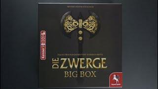 kooperative Brettspiele - Die Zwerge Big Box - Die ganze Saga in einer Box - Material/Regeln/Review