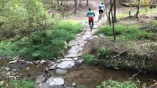 Stream Crossing at Northwoods Trail in Hot Springs, AR