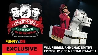 Will Ferrell And Chad Smith's Epic Drum Off All Star Rematch