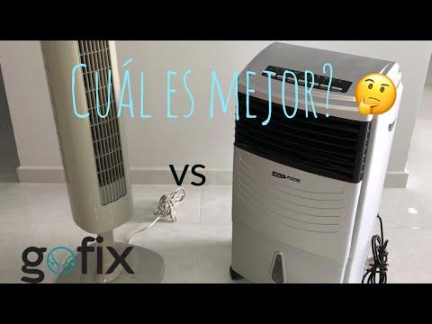 Ventilador VS Enfriador de Aire, ¿Realmente enfrían?