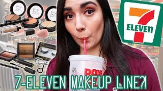 I Tried A Full Face Of 7-Eleven Makeup - Video Youtube