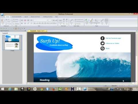 how to create a website using web easy  professional 10