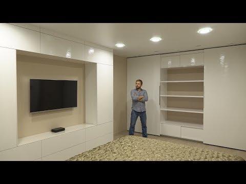 Кипельно-белые шкафы в твою спальню !!!