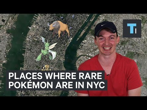 Video Best places to find rare Pokémon in New York