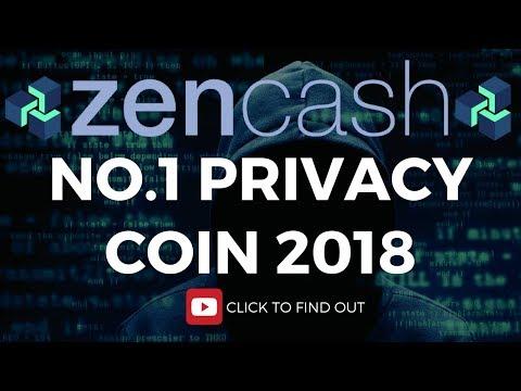 BEST PRIVACY COIN (2018) - ZENCASH PRICE PREDICTION (2018)