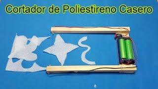 Como Hacer Cortador De Poliestireno O Porexpan Casero, Cortador De Corcho Blanco | Sagaz Perenne