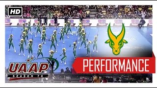 UAAP 78 CDC: FEU Cheering Squad