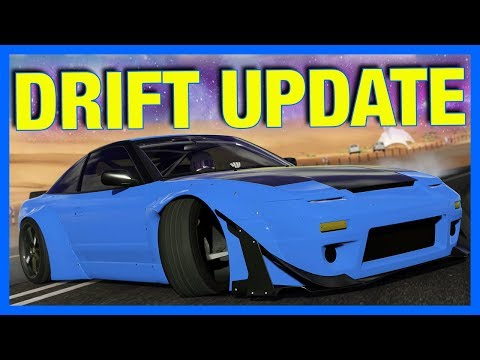 Forza 7 Online : NEW DRIFT SUSPENSION GAMEPLAY!! **Crazy Drifting Angle**