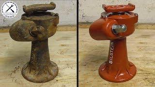 Восстановление немецкого винтового домкрата 1930-х годов- Bilstein 2500kg