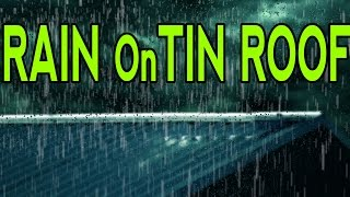 🎧  RAIN On TIN ROOF For Relaxation | Ambient Meditation and Sleep Sounds | @Ultizzz day#11