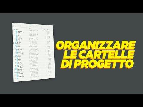 Cartelle di progetto - Organizzare il proprio Computer