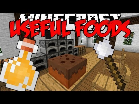Minecraft Mod | Useful Foods (CRAFT YOURSELF A GOOD SNACK!) | 1.7.10