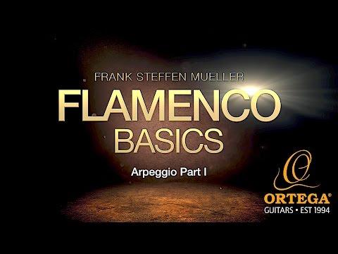 Flamenco Guitar Basic Lessons   Arpeggio (part 1)   Frank Steffen Mueller