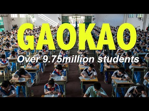 Over 9.75 million students registered in the world's toughest and largest exam, Gaokao