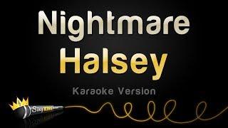 Halsey   Nightmare (Karaoke Version)