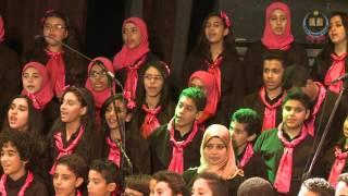 تحميل و مشاهدة ألفٌ باءٌ من اعمال عمر الجيزاوي اداء نور وكورال النزهة للغناء العربي MP3