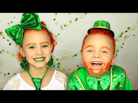 St Patricks Day Leprechaun Costume Tutorial