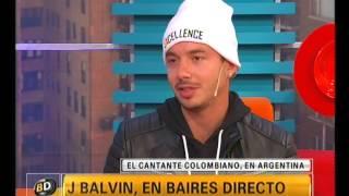 J Balvin en Baires Directo - Telefe Noticias
