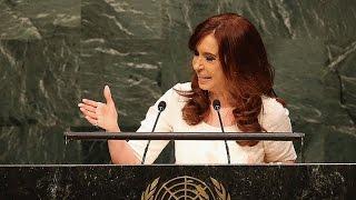 Cristina Ante La Asamblea General De La ONU Las Finanzas No Pueden Seguir Manejando La Política
