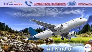 Pick Medilift Full ICU Facility Air Ambulance Service in Bhopal