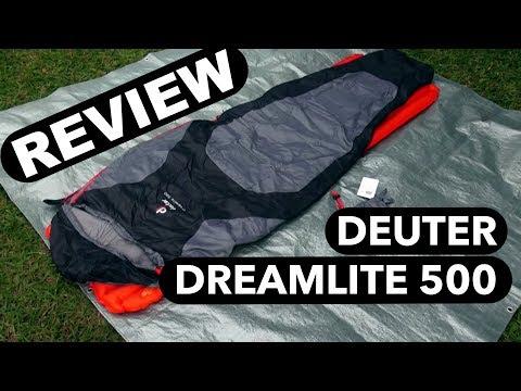 Deuter Dreamlite 500 - Review do saco de dormir (análise)