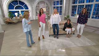 Laurie Felt Silky Denim Curve Skinny Ankle Jeans on QVC