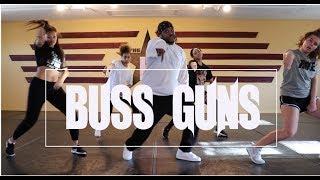 ACE HOOD ft. MAVADO - Buss Guns   @theINstituteofDancers   Choreographer Ray Love