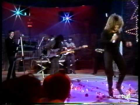 Tina Turner -  Can´t stop me loving you (Spanish TV 1990)