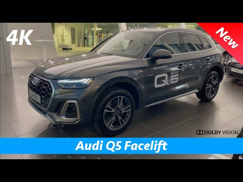 Audi Q5 S Line 2021 - FIRST look in 4K | Exterior - Interior (Facelift)