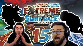 THIS IS SO COOL! INSANE ADMIN BATTLES! Pokemon ORAS Extreme Randomizer Shiny Race Nuzlocke Ep 15