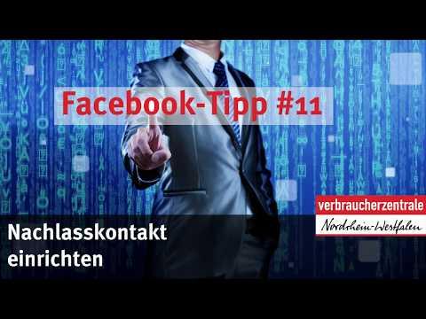 Facebook-Tipp #11: Nachlasskontakt einrichten