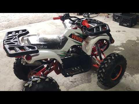 1500W + 125CC ATV ASSEMBLY VIDEO VENOM GRIZZLY + E-GRIZZLY