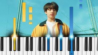 BTS (방탄소년단)   Euphoria   Easy Piano Tutorial